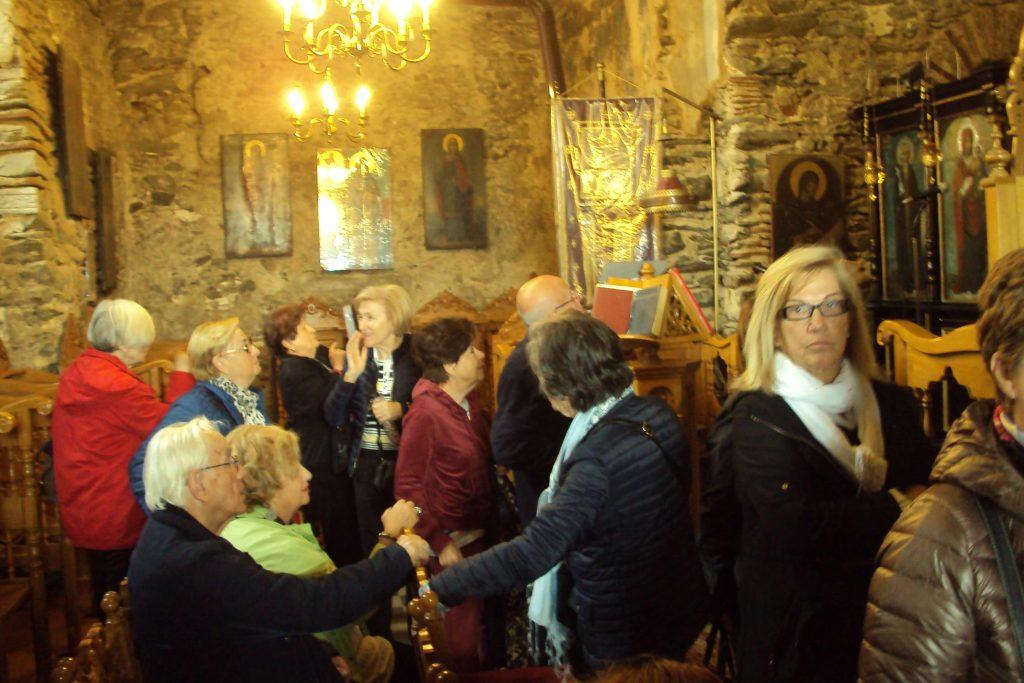 Επίσκεψη του 12ου Παραρτήματος στην Μονή Βλατάδων και τον Όσιο Δαυίδ