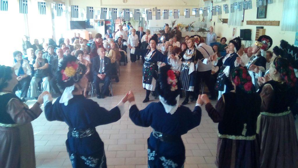 Εκδήλωση για τον εορτασμό της 28ης Οκτωβρίου στο 4ο Παράρτημα Κ.Α.Π.Η. Δ.Θ.